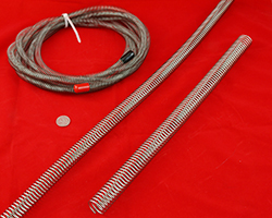 Hose guards and hydraulic hose holders.